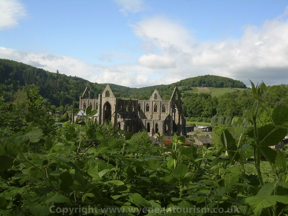tintern abbey historical monument near chepstow