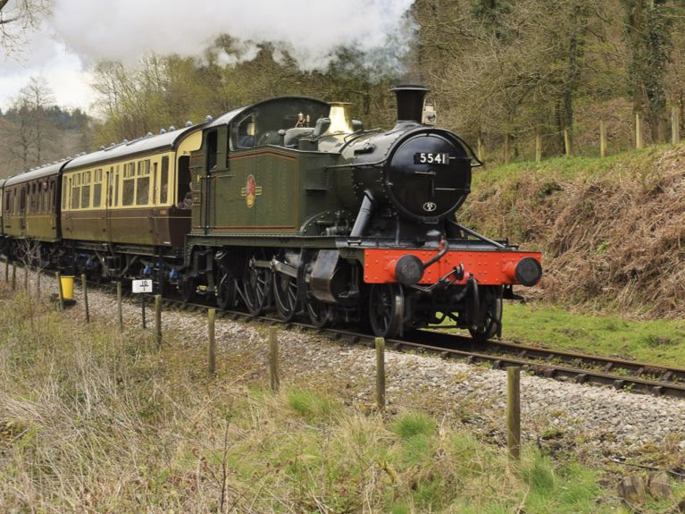 steam train Norchard Lydney
